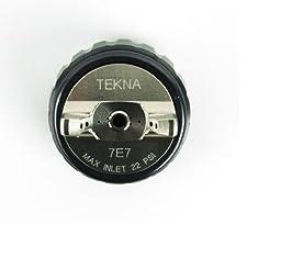 DeVilbiss 703062 High Efficiency Air Cap and Retaining Ring for TEKNA Spray Guns