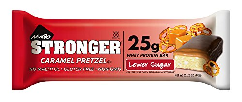 California Pretzels (NuGo Stronger Caramel Pretzel, 2.82 Ounce (pack Of 12))