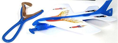 DCMA おもちゃ 飛んでけ! ゴム 飛行機 光る 組み立て 戦闘機 キット