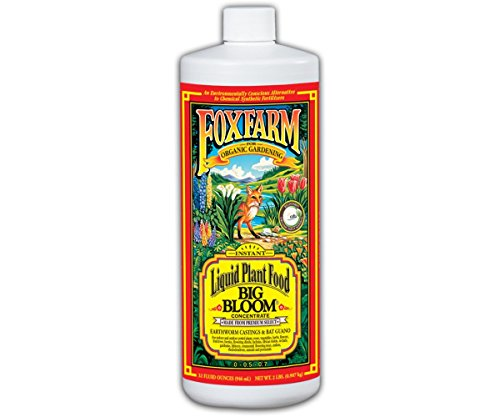 FoxFarm FX14002 Big Bloom Liquid Concentrate, 1 Quart ()