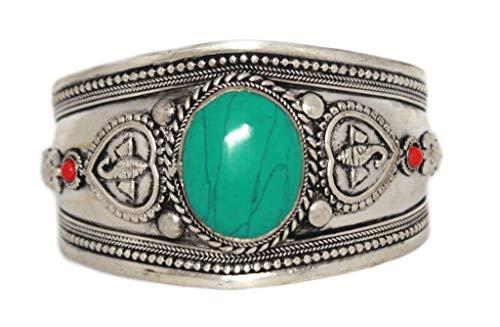 Turquoise Bracelet Tibetan...