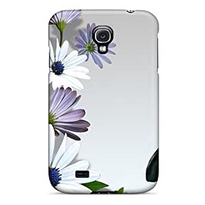 Mxcases Fashion Protective Gerber Daisies Butterfly Case Cover For Galaxy S4