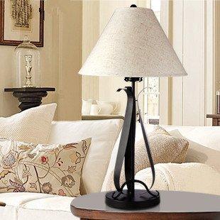 European Minimalist Table Lamp Wrought Iron Lamp Bedside Lamp Bedroom Lamp