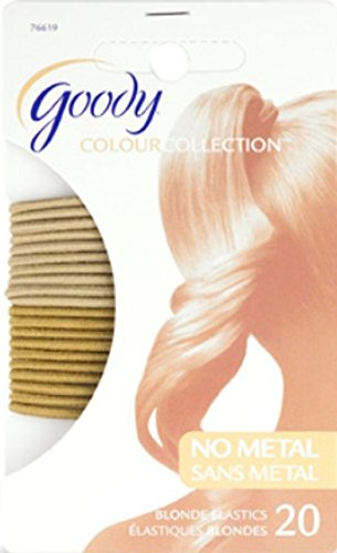 Goody Colour Collection 2mm Elastics Blonde 76619 20