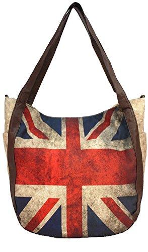 Union Jack British Flag Design Tote Bag
