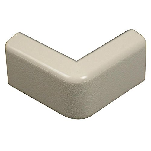Wiremold 418 Non-Metallic External Elbow Fitting PVC Ivory For Use With 400 Series Single-Channel (400 Series Single)