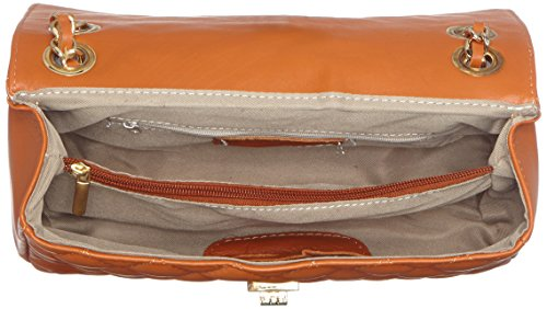 In Moda Tutto Trapuntata Elegante Cuoio Ctm 100 Vera Italy Donna Borsa Pelle Made 27x17x9cm Da Chicca Oqd5wqR