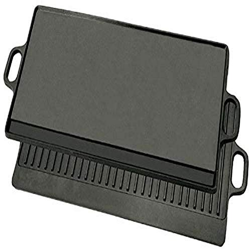 """Bayou Classic 7428 28"""" Cast Iron Reversible Griddle"""