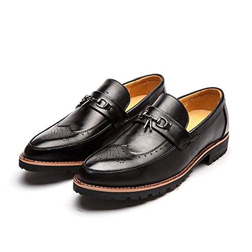 Shoe On Toe amp;N No Black Flat Tie O Lace Mens Cap Slip Casual Pq4W0Tv