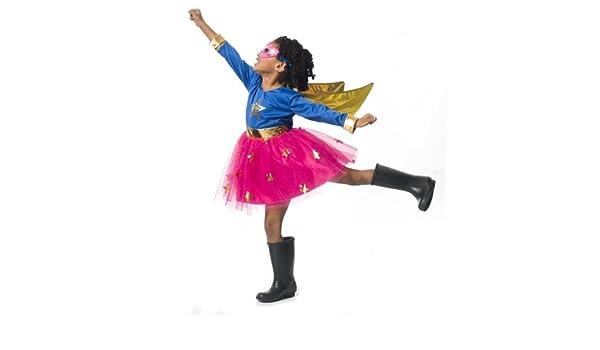 Imaginarium Disfraz Talla 6-7 años, Party Superheroine 116-122 cm ...