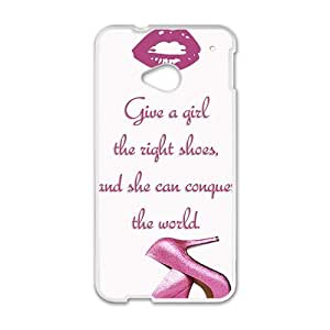 Love Shoes White htc m7 case