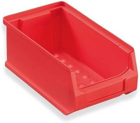 40 Caja visualizable para almacén 175x100x75 mm rojo Caja Visualizable Almacén Cajas apilables Cajas Apilables Almacén Caja Almacén caja almacenar: Amazon.es: Bricolaje y herramientas