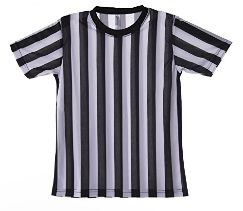 Mato & Hash Children's Referee Shirt Ref Costume Toddlers Kids Teens (Kids Referee Costume)