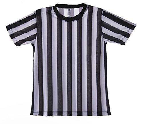 [Mato & Hash Children's Referee Shirt Ref Costume Toddlers Kids Teens XXS] (Toddler Referee Costumes)