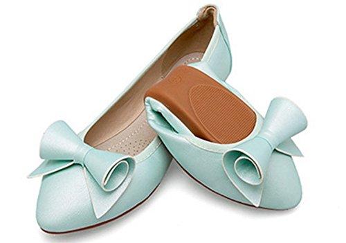 Blue Opsun Ballet Women's Size Flats 9 xOtSnaOZ