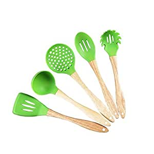 Silicone kitchen utensils set bpa free cooking for My perfect kitchen products