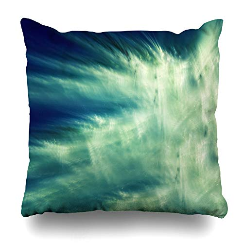Kutita Decorativepillows Covers 18 x 18 inch Throw Pillow Covers, Bright Rich and Joyful Spectacular Backdrop Pattern Double-Sided Decorative Home Decor Pillowcase ()