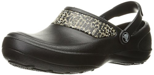 Black Black Gold Clogs Work Mercy Crocs WoMen nWPqXIXT