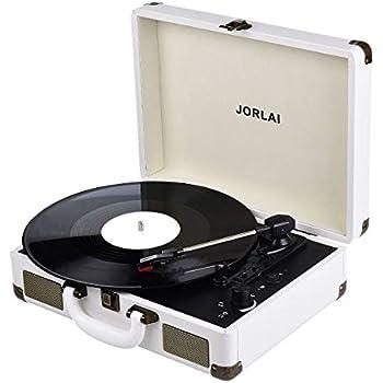 Amazon.com: 1byone Belt Driven 3 Speed Portable Stereo ...