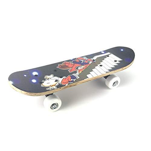 Double-Sided Printing Children's Skateboard Skate Scooter En