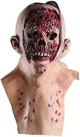 Máscara De Látex De Demonio Zombie De Terror, Disfraz De Halloween ...