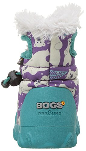 Moc Boot Bogs B Insulated Multi Kids' Winter Purple Toddler Waterproof n0SEwUrEq