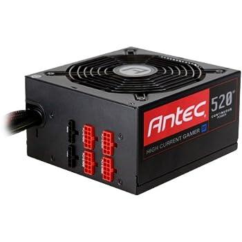 Amazon Com Antec High Current Gamer Hcg 520m 80 Plus