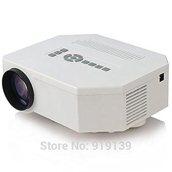 ARBUYSHOP mini HDMI LED de la lámpara del proyector construido en ...