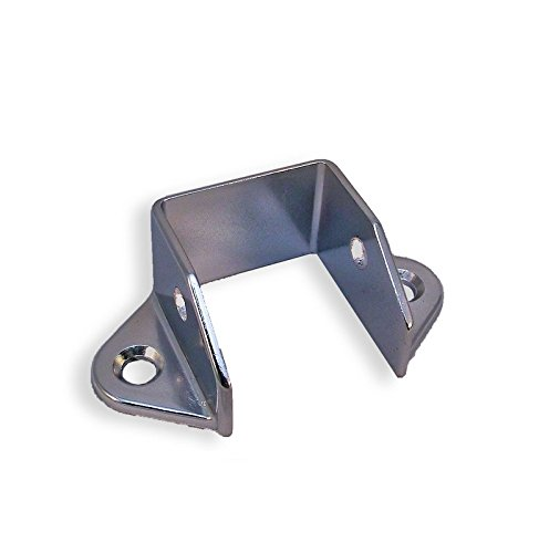 1-1/4'' Chrome Plated Toilet Restroom Partition Headrail Bracket by Young's Catalog