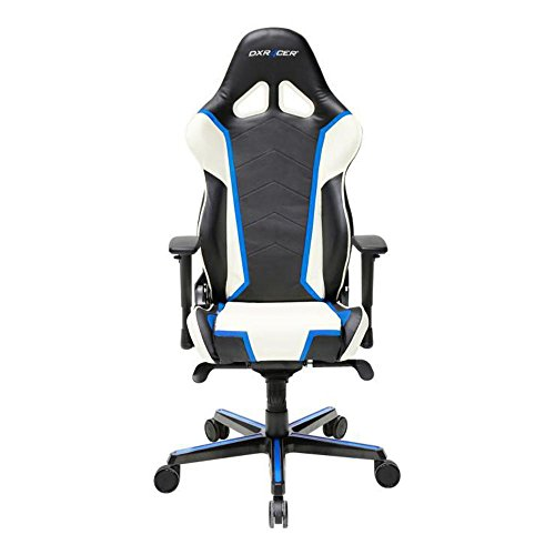 Amazon.com: DXRacer OH/RH110/NWB Ergonomic, High Quality Computer Chair For  Gaming, Executive Or Home Office Racing Series White / Blue / Black:  Kitchen U0026 ...