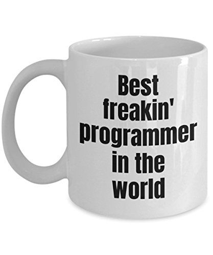 (Computer Science Coffee Mug - Best Programmer Skills In The World IT Coworker Coffee Cup Novelty Gift Idea)