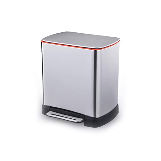 KYCD Cubo de Basura Acero Inoxidable para el hogar, baño ...