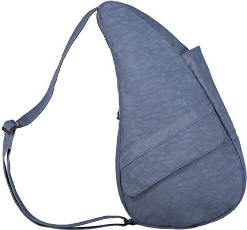 AmeriBag Classic Healthy Back Bag Tote Distressed Nylon Small (Vintage Indigo) ()