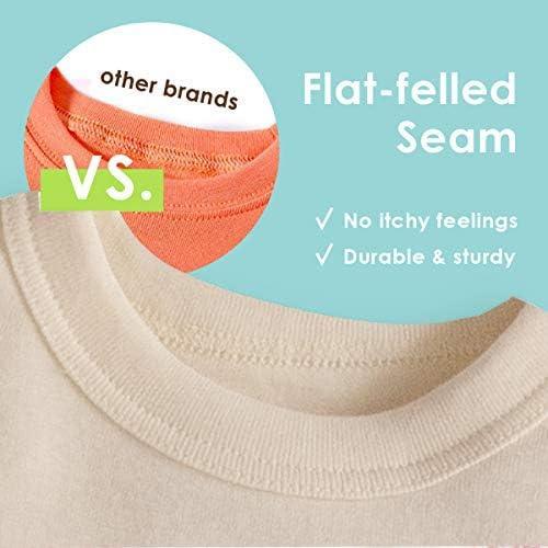 100/% Soft Organic Cotton Shirt Pants Boys Long Sleve Rocket Ship Grey Stripe Pants Pajama Sets Sizes 8