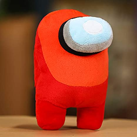 Among Us Merch Plush Toy Kawaii Soft Plushie Stuffed Doll Toy for Kids Gift /& Game Fans Crewmate Blue