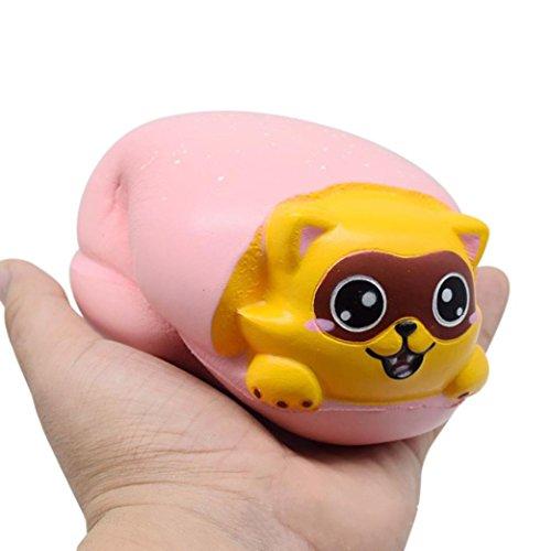 Hot Dog Bun Costume Pattern (Squishy Nut Bread Phone Straps Slow Rising Bun Charms Gifts Toys Makalon)