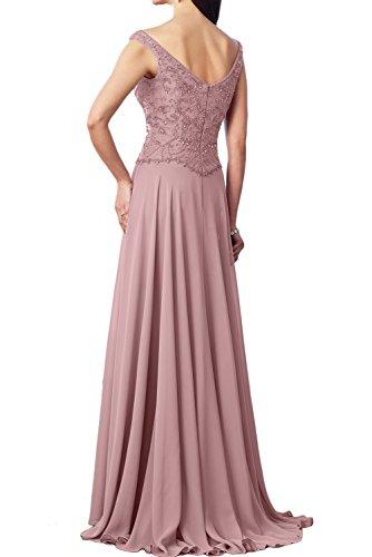 Ivydressing Bodenlang Schwarz Spitze Abendkleid Promkleid 2017 Partykleider Fuchsia Brautmutterkleider Neu Glamour Damen Traeger Zwei rqxwgr
