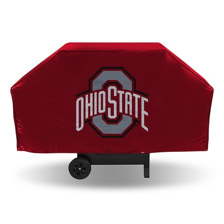 (Bluetech Ohio State Buckeyes NCAA Economy Barbeque Grill Cover-By)
