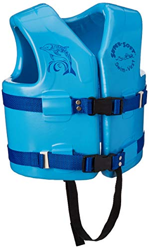 (TRC Recreation Kids Super Soft USCG Vest, Marina Blue, Medium )