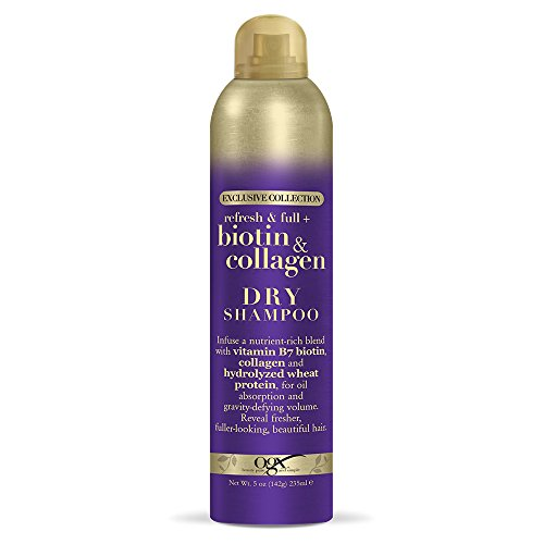 OGX Biotin & Collagen Dry Shampoo, 5 Ounce Bottle