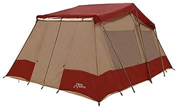 Trek Tents 240 Three Room Nylon Taffeta 10 Person Cabin 10u0027 x 16u0027 Tent  sc 1 st  Amazon.com & Amazon.com : Trek Tents 240 Three Room Nylon Taffeta 10 Person ...