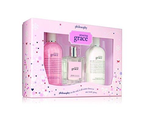 Amazing Philosophy Set Grace (Philosophy Amazing Grace Holiday Collection Set)