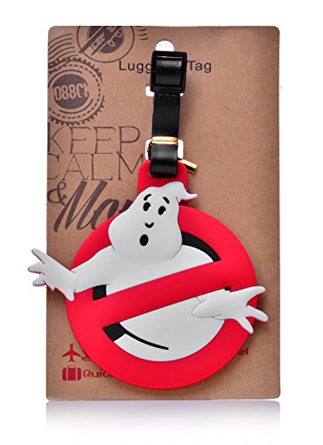 REINDEAR Heavy Duty Baggage Luggage Tag US Seller (Ghostbuster) (Ghostbuster Accessories)