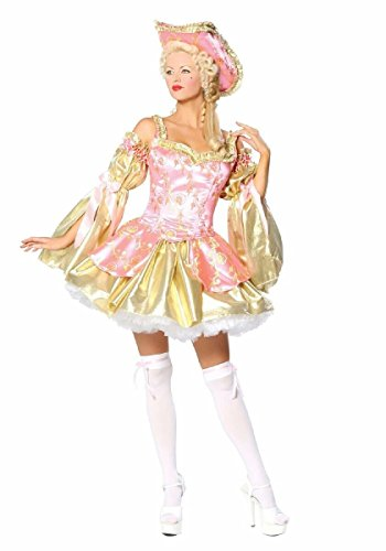 Sexy Pink and Gold Marie Antoinette Costume -