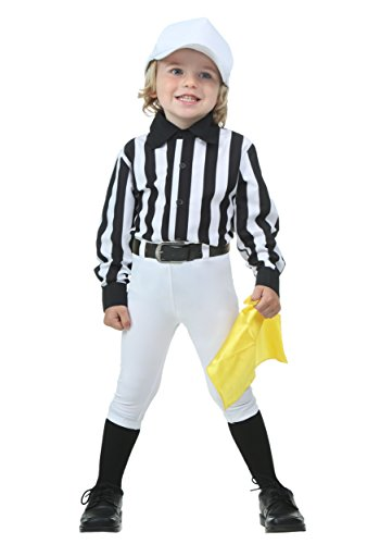 Baby Referee Halloween Costume (Toddler Referee Costume 4T)