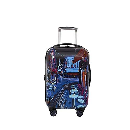 IT Luggage Virtuoso 22-Inch Hardside Carry-On Spinner (Paris Cafe (Nautical Luggage)