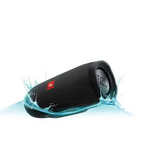 JBL Charge 3 Waterproof Bluetooth Speaker -Black (Certified Refurbished) by JBL