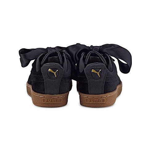 gold Vs W Basket Heart Black Calzado Puma fq6CTgq