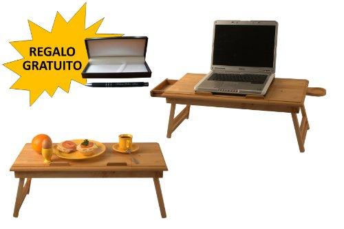 Tavoli Per Colazione A Letto : Tavolo per fare colazione a letto: tavolino notebook vassoio in