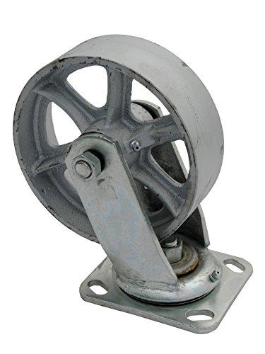 - Vestil CST-SS-6/2-S Steel Swivel Caster, 1200 lb Capacity, 2